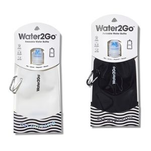 Water2Go Foldable Reusable Water Bottle Set of 2
